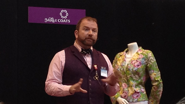 stuart hillard - sewing for pleasure presentation