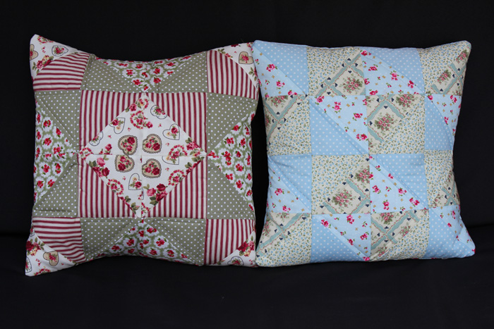 quilted-patchwork-cushions