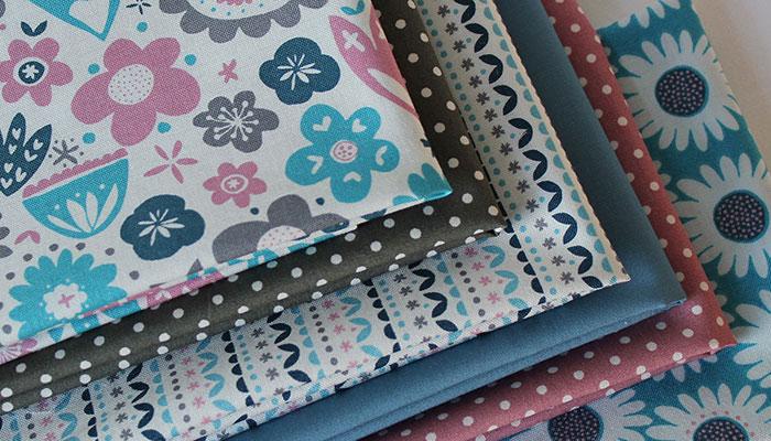 artistic fleur collection of fat quarter fabrics