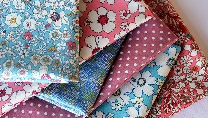 summer meadow collection of fat quarter fabrics