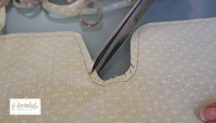 cutting seam