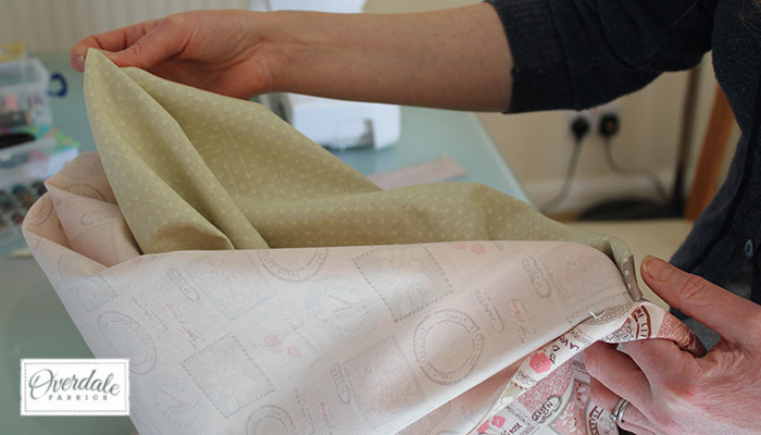 turning sewing inside out