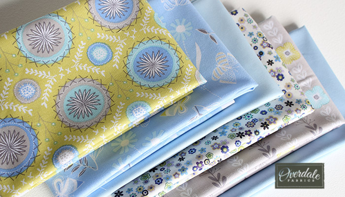 Flyaway Flowers fat quarters