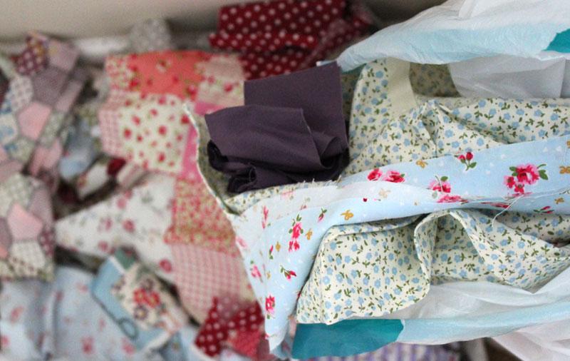 Craft fabric scraps