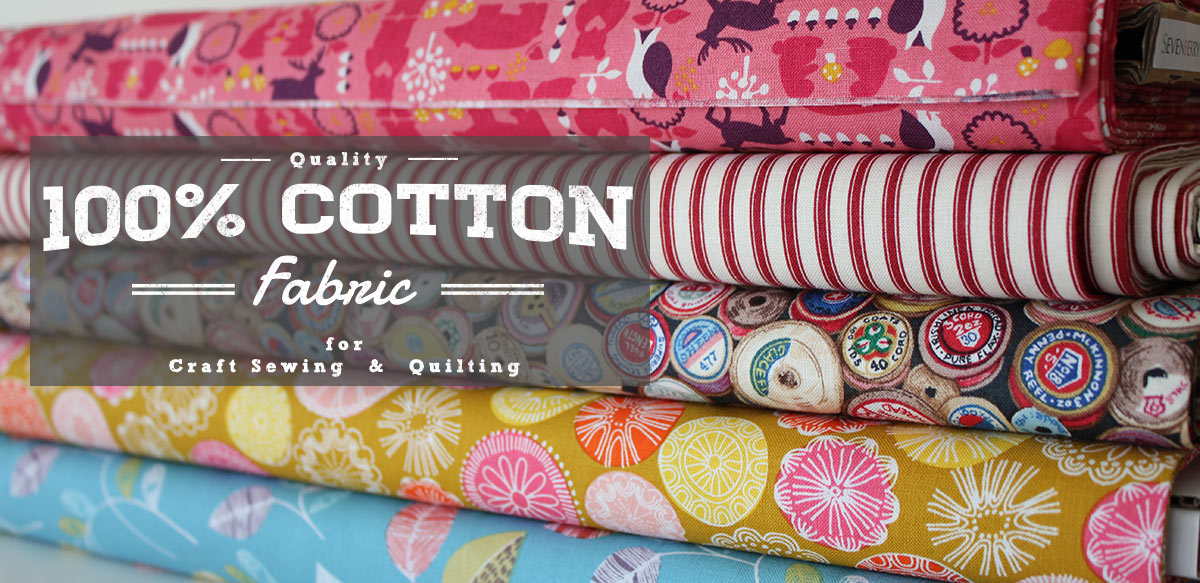 100% cotton fabric for sewing banner