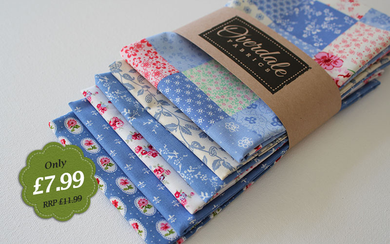 my blue heaven fat quarters - special offer